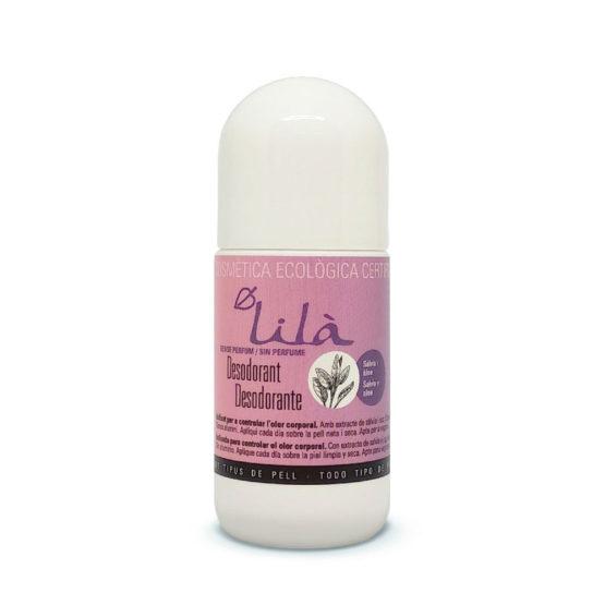desodorante sin perfume Lilà Cosmetics