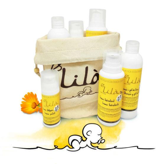 Pack cosméstica bebé Lilà Cosmetics