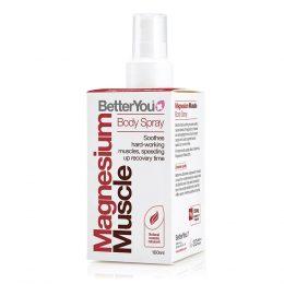 Spray con magnesio para relajación muscular BetterYou